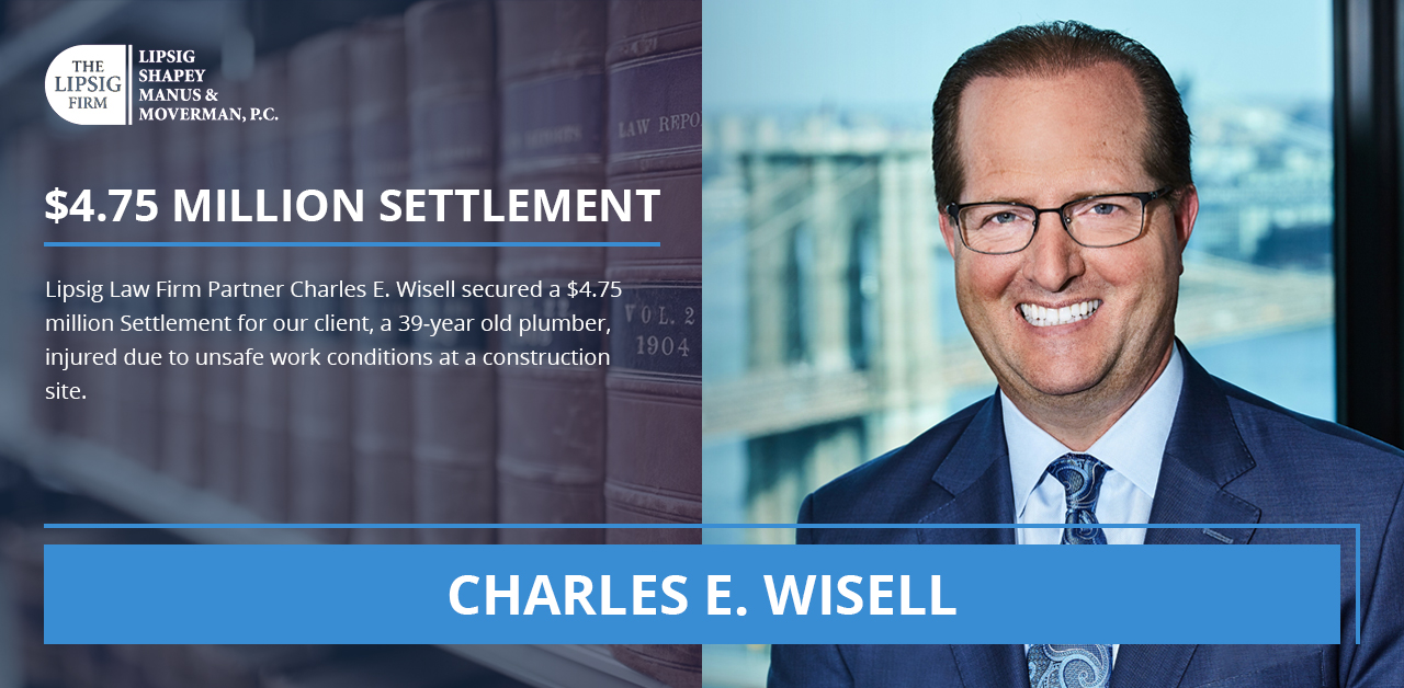 Charles E Wisell Construction Accident Lawyer