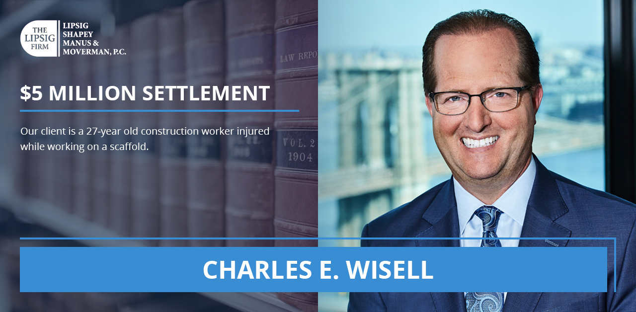 Charles E Wisell Settlements Lawyer