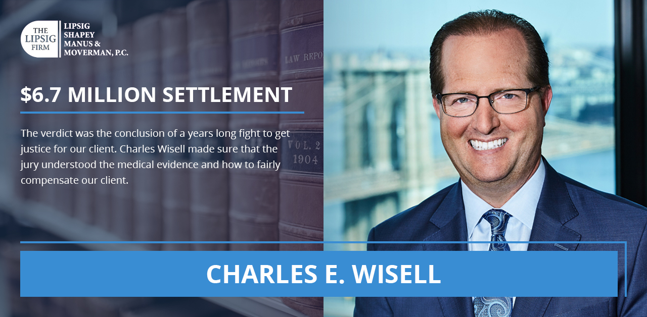 Charles E Wisell NYC Personal Injury Lawyer