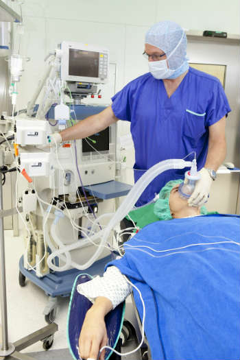 Operation anesthesia procedure