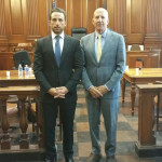 Attorney Marc Freund and Thomas Moverman